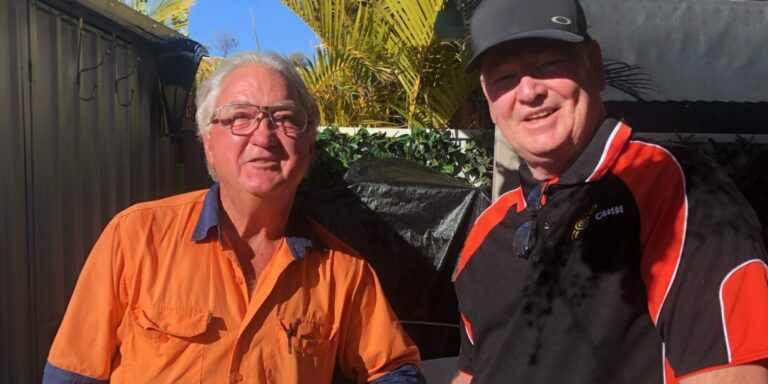 Where You Mob: Gary Owen chats with the CAAMA Sports crew